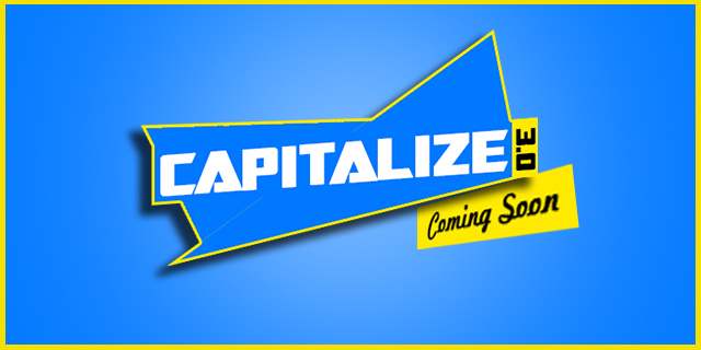 Capitalize upcoming